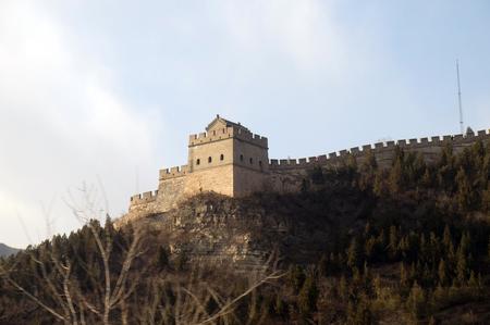 The Great Wall of China in Badaling, China