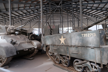 Tanks in the Military Museum of the Chinese Peoples Revolution in Beijing, China