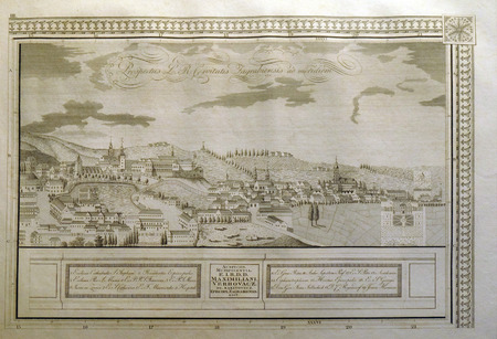 View of the free royal city of Zagreb from the south from 1822.