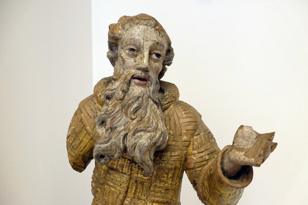 St. Paul the Hermit from the Paulist church in Veternica, the first half of the 18th century exhibited in Museum of Arts and Crafts in Zagreb Editorial