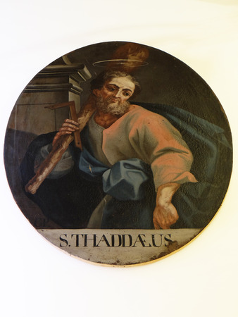 St. Jude Thaddeus, the second half of the 18th century, exhibited in the Museum of Arts and Crafts in Zagreb Editorial
