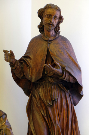 St. John the Evangelist and St. of Philip the Apostle, the mid-18th century, exhibited in the Museum of Arts and Crafts in Zagreb Editorial