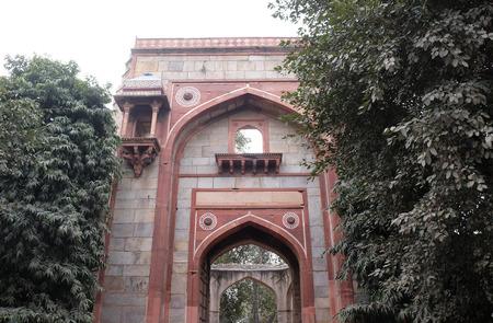 Arab ki sarai gateway, Humayuns Tomb complex, Delhi, India Editorial