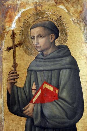 アントニオ ・ ヴィヴァリーニ: クロアチア、ポレッチのエウフラシウス聖堂の祭壇画、アッシジ聖フランシス