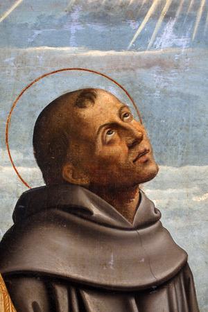 Girolamo da Santa Croce: St. Francis, Altarpiece Franciscan church in Kosljun, Croatia.