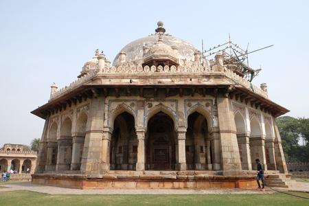 Isa Khan tomb, Humayuns tomb complex, Delhi, India