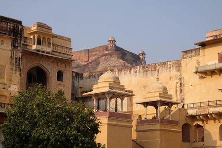 Amber Fort in Jaipur, Rajasthan, India.