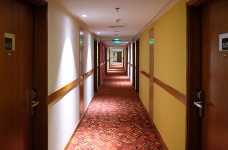 Hotel Ibis Delhi Airport, located adjacent to both T1 & T3 airport terminalsin, India. Foto de archivo