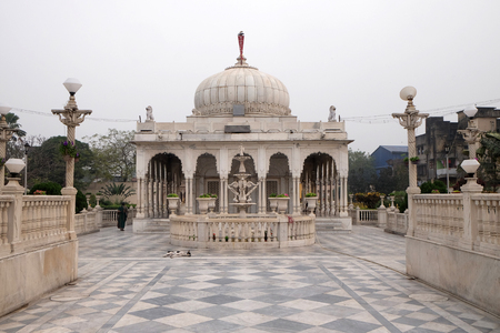 jainism: Jain Temple (also called Parshwanath Temple) is a Jain temple at Badridas Temple Street is a major tourist attraction in Kolkata, West Bengal, India Editorial