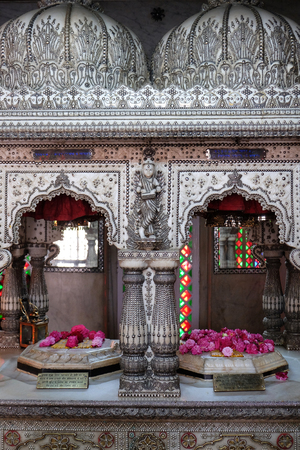 west bengal: Jain Temple (also called Parshwanath Temple) is a Jain temple at Badridas Temple Street is a major tourist attraction in Kolkata, West Bengal, India Editorial