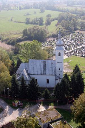saint martin: Parish Church of Saint Martin in Martinska Ves, Croatia Editorial