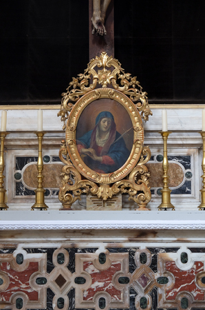 Our Lady of Sorrows, Franciscan church of the Friars Minor in Dubrovnik, Croatia