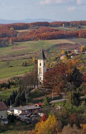 Parish Church of Our Lady of Snow in Dubranec, Croatia