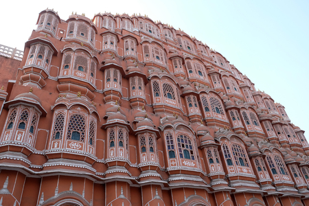 Hawa Mahal, Winds Palace in Jaipur, Rajasthan, India
