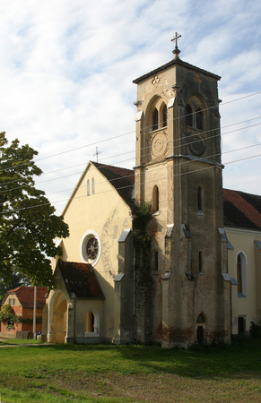 Parish Church of Saint Anthony of Padua in Bukevje, Croatia
