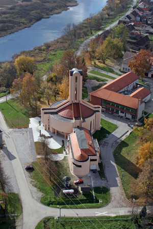 Parish Church of Blessed Aloysius Stepinac in Budasevo, Croatia