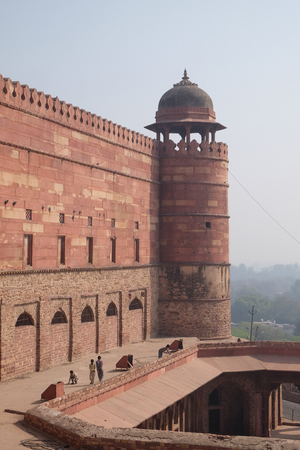 Historical city constructed by Mughal emperor Akbar in Fatehpur Sikri, Uttar Pradesh, India.