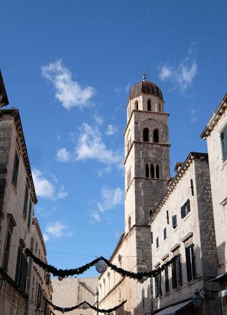 Franciscan church of the Friars Minor in Dubrovnik, Croatia Stock Photo