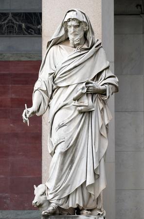 Saint Luke the Evangelist, Basilica St. Paul outsde wall in Rome