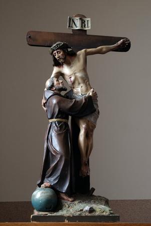 St. Francis removes Jesus from the cross, church of Saint Matthew in Stitar, Croatia
