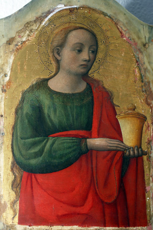 Antonio Vivarini: Saint Mary Magdalene, Altarpiece in Euphrasian Basilica in Porec, Croatia