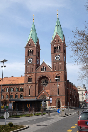 Franciscan church St Mary Mother of Mercy in Maribor, Slovenia Editorial