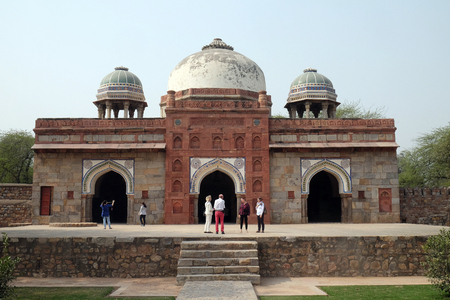 Isa Khan tomb, Humayun's tomb complex, Delhi, India