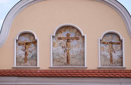 Golgotha, Chapel of Saint Dismas in Zagreb, Croatia