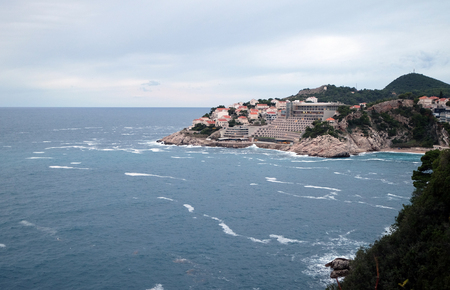Dubrovnik, Croatia. Most popular travel destination in Adriatic sea. Standard-Bild