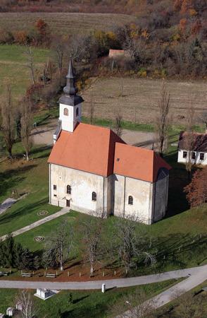 Parish Church of Saint Martha in Sisinec, Croatia