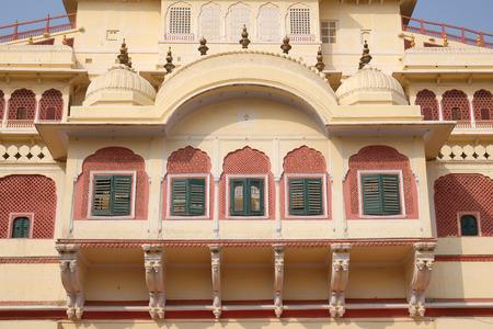 Chandra Mahal in Jaipur City Palace, Rajasthan, India Editöryel