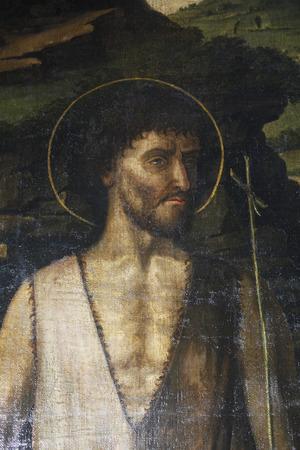 Gentile Bellini: Saint John the Baptist, Altarpiece in Cathedral of Saint Lawrence in Trogir, Croatia