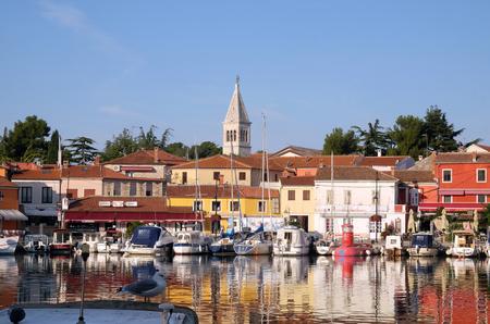Small idyllic city Novigrad located on the west coast of Istria peninsula, Croatia