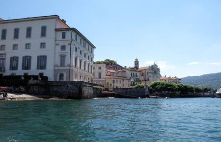 Palazzo Borromeo on Isola Bella, Borromeo Islands, Lago Maggiore, Piedmont, Italy