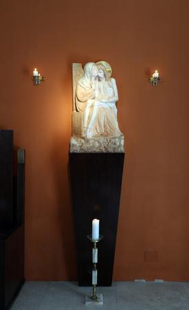 Our Lady of Sorrows, Chapel of Saint Dismas in Zagreb, Croatia