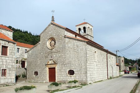 Church of Our Lady of the Snows in Pupnat, Korcula island, Croatia