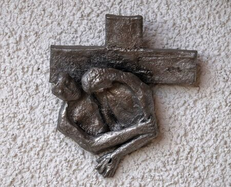 Way of the Cross created by Maria Munz-Natterer in the Erscheinung des Herrn church in Munchen Blumenau, Germany