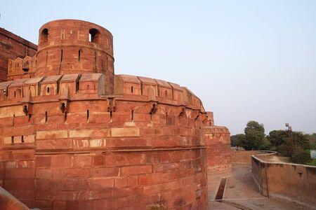 Red Fort in Agra. Uttar Pradesh, India
