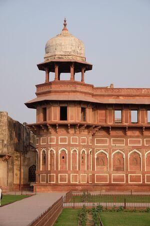 Red Fort in Agra. Uttar Pradesh, UNESCO World heritage site, India. Editorial