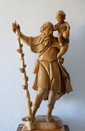 Saint Christopher, Convent of the Sisters of St. Cross in Gemunden, Germany