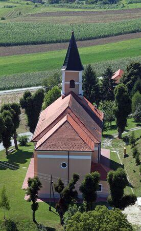 Parish Church of St. Leopold Mandic in Orehovica, Croatia