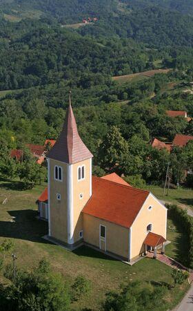 Chapel of Saint Vitus in Komor Zacretski, Croatia
