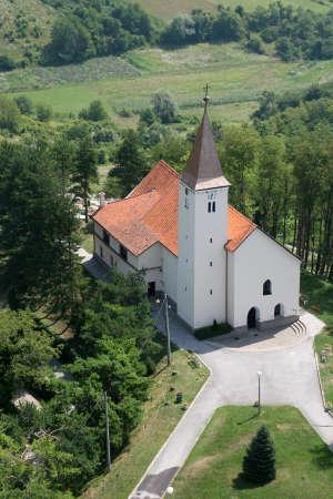 Parish Church of St. Anne in Sveta Jana, Croatia