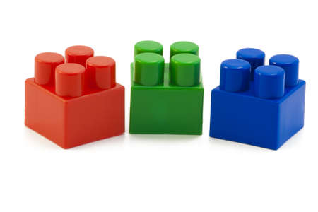 Three color cube  This is the basis of the color scheme RGB Stock Photo