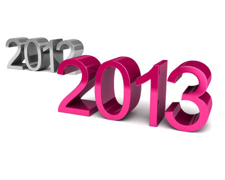 New Year 2013. It is possible to use for registration of cards, teleprompts and WEB photo