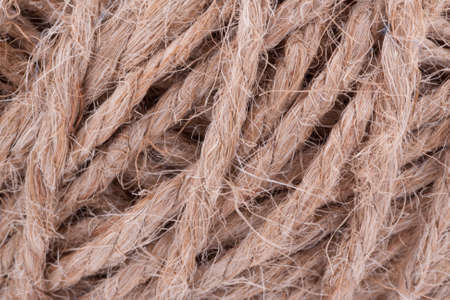 Background of coarse thread twine