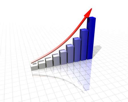 Increase the income Stock Photo
