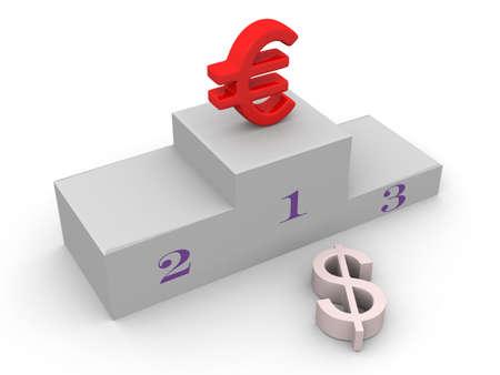 Euro has won dollar
