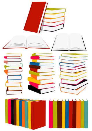 art book: Pila de libros, presentaci�n, Collected Works