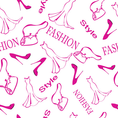 Fashion background.  Vector